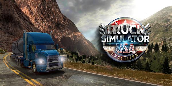 Truck Simulator USA - Evolution 4.0.5 (MOD, Money/Gold)
