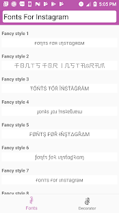 Cool Fonts for Instagram, Facebook, Twitter, ...