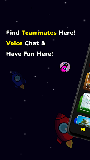 AmongChat - Voice Chat for Among Us Friends  screenshots 1