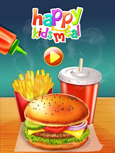 Happy Kids Meal Maker - Burger Cooking Game 1.2.9 screenshots 12