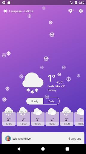 Buluttan - Weather of Turkey 2.6.0 Screenshots 5