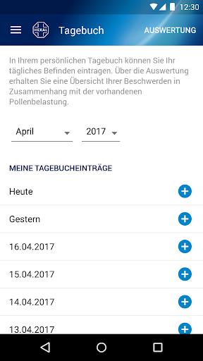 Pollenflug-Vorhersage  screenshots 7