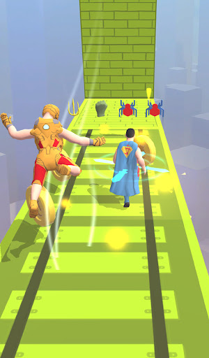 Superhero Run - Epic Transform Race 3D  screenshots 5