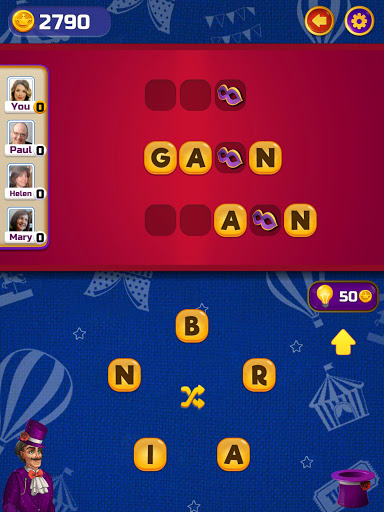 ud83cudfaaCircus Words: Free Word Spelling Puzzle  screenshots 9