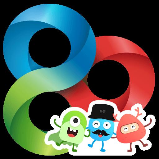 GO Launcher-Thèmes Android