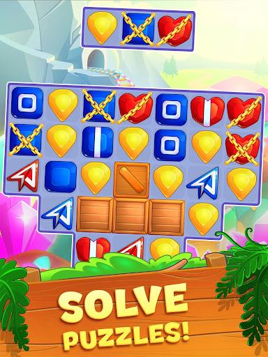Crystal Crunch: New Match 3 Puzzle | Swap Gems 1.7.1 screenshots 15