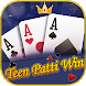 Teen Patti Win-3 Patti Online