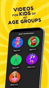 HappyKids - Free, Kid Safe Videos, Shows & Movies Screenshot