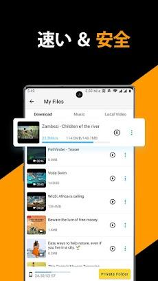 無料動画・ビデオダウンローダー、プライベートファイルダウンローダー&セーバーのおすすめ画像3
