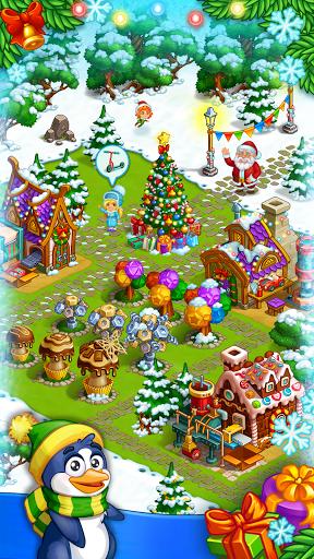 Farm Snow: Happy Christmas Story With Toys & Santa 2.25 screenshots 2