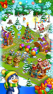 Farm Snow Happy Christmas Story With Toys & Santa 1.74 MOD APK  Download 2