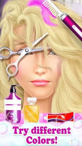 Princess HAIR Salon Makeup Dress up Girl Games android2mod screenshots 4