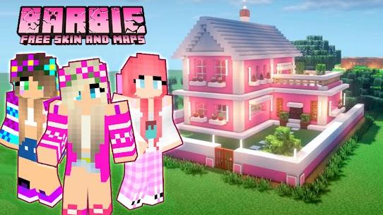 Skins ???? Barbie Craft For Minecraft PE 2021 Apk Download 5