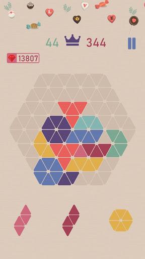 Trigon : Triangle Block Puzzle Game  screenshots 3