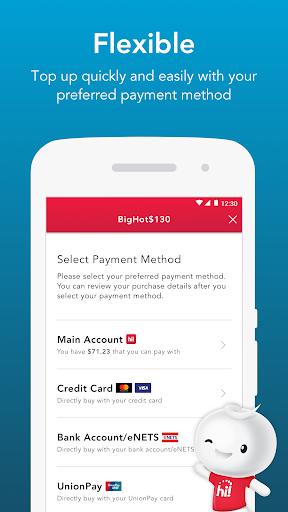 Singtel Prepaid hi!App android2mod screenshots 4