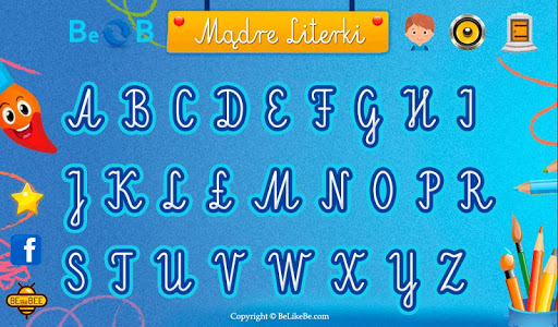 Mu0105dre Literki LITE - Nauka pisania liter alfabetu 1.0.21 screenshots 5