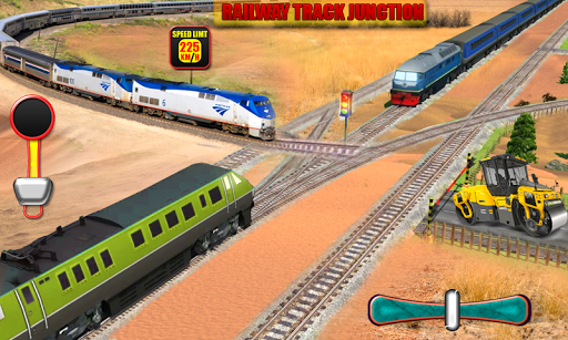 Euro Train Driving Simulation 3D: Free Train Games 1.13 screenshots 8