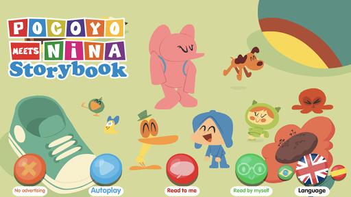 Pocoyo meets Nina - Storybook  screenshots 1