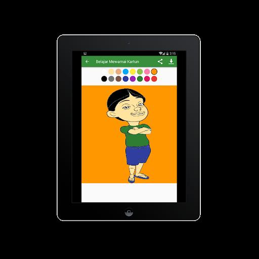 Belajar Mewarnai Gambar Kartun Untuk Anaku2013Infokuu  Screenshots 14