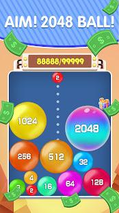 Lucky 2048 - Merge Ball and Win Free Reward  Screenshots 1