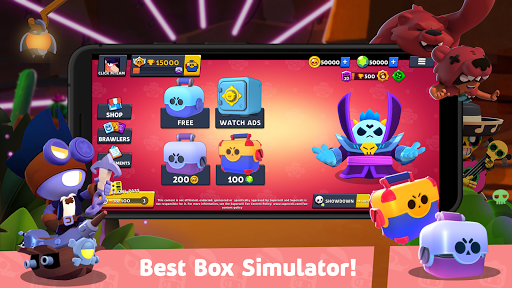 Box Simulator for Brawl Stars: Cool Boxes! 10.4 Screenshots 1