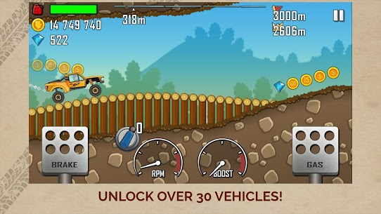 Hill Climb Racing Mod Apk Unlimited Fuel+Diamond+Money+Gem 2021 2
