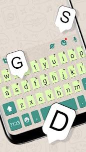 Messenger Chat Sms Keyboard Theme 2