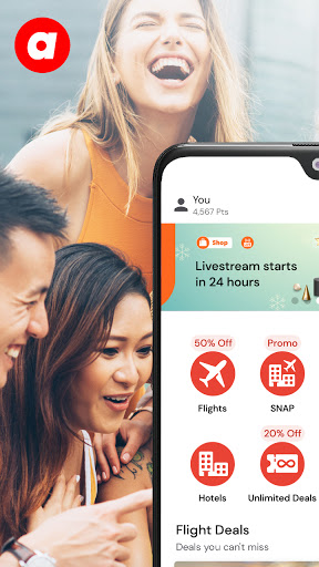 airasia, The Asean Super App  screenshots 1