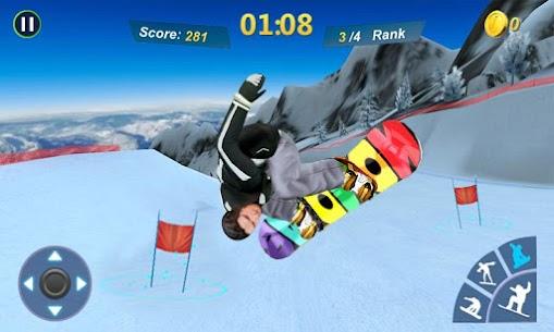 Snowboard Master 3D MOD (Unlimited Money) 2