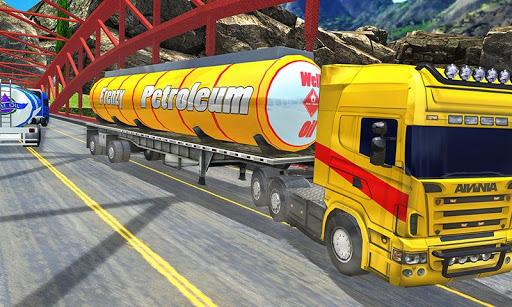 Offroad Oil Tanker Truck Transport Driver  Screenshots 6