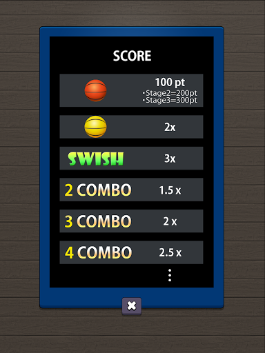 Swish Shot! Basketball Shooting Game screenshots 11