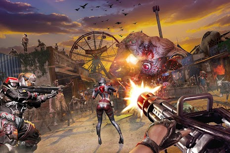 Zombie Spiele : DEAD WARFARE Screenshot