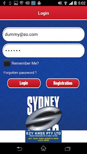 sydney oztag screenshot 2