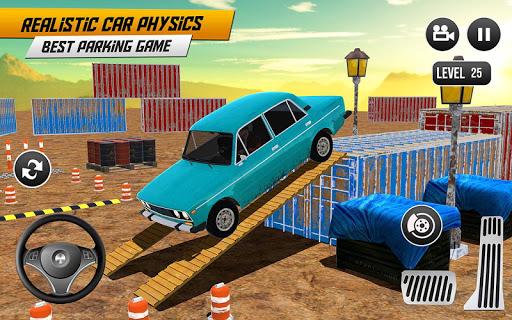 Prado Car Parking Game: Extreme Tracks Driving 3D  screenshots 14