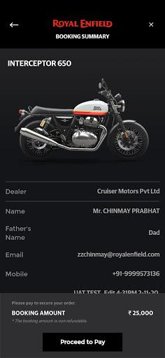 Royal Enfield App 6.7 Screenshots 16