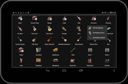 Strings and Piano Keyboard android2mod screenshots 22