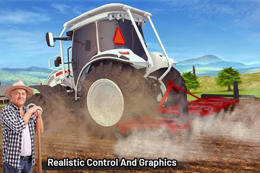 Modern Farming Simulation: Tractor & Drone Farming screenshots 7