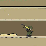 Mini Information Militia Doodle about Army maps 2