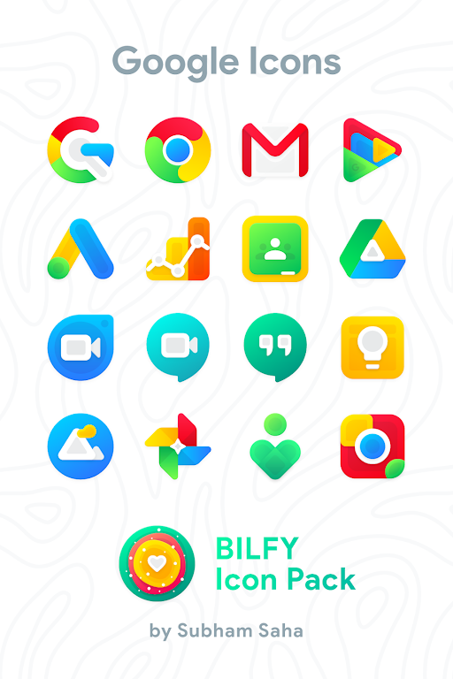 Bilfy Icon Pack  poster 0
