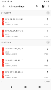 ASR Voice Recorder Mod Apk 243 (Pro Features Unlocked) 4