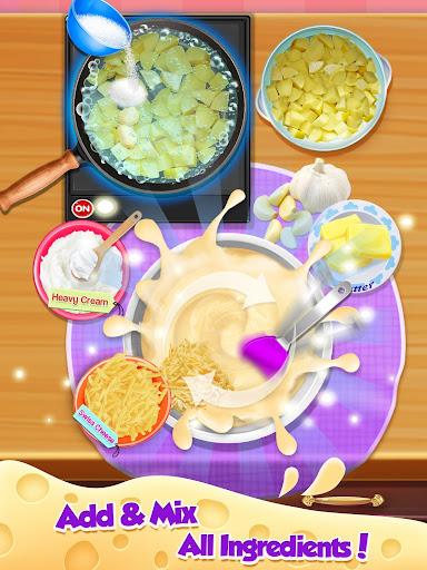 Cheesy Potatoes - New Year Trendy Cheesy Food screenshots 10