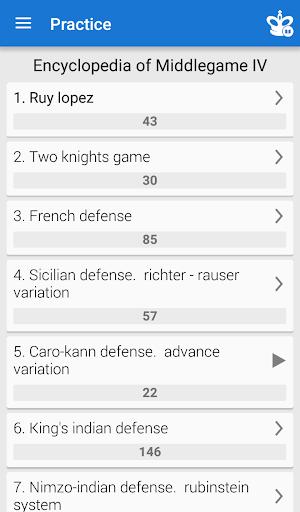 Chess Middlegame IV  screenshots 1
