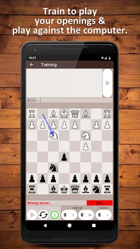 Chess Openings Trainer Free - Build, Learn, Train 6.5.3-demo screenshots 6