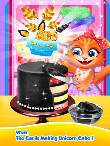 Unicorn Food - Sweet Rainbow Cake Desserts Bakery 3.1 screenshots 15