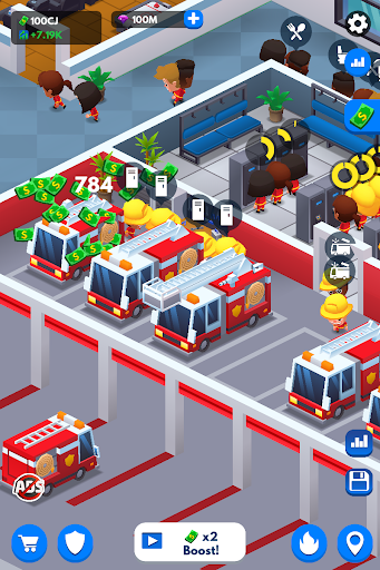 Idle Firefighter Tycoon - Fire Emergency Manager 0.14 screenshots 12