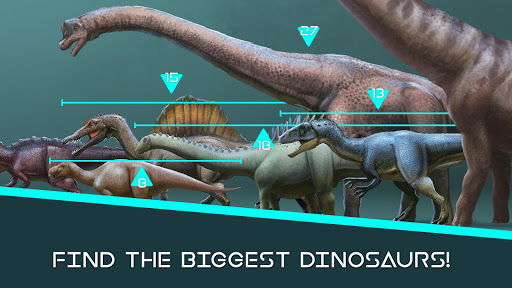 Dinosaur Master: facts, minigames and quiz 1.3.5 screenshots 1