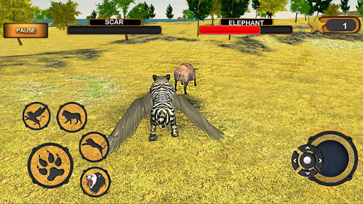 Angry Flying Lion Simulator 2021 android2mod screenshots 4