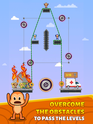 Monkey Rescue Puzzle 1.0.2 screenshots 9