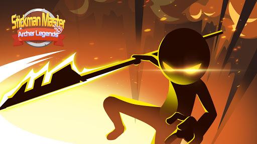 Stickman Master: Archer Legends modiapk screenshots 1