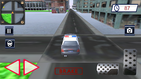 Police Car : Police Chase Gangster 1.0 screenshots 1